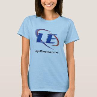 女性Tシャツの法的雇用者 Tシャツ