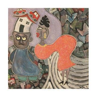 女性talby rafiによって ウッドウォールアート
