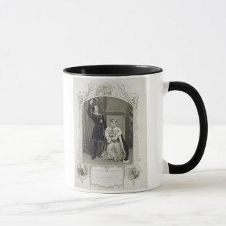 女王としてゲトルートハムレットおよび失敗GlynとしてPhelps氏 マグカップ