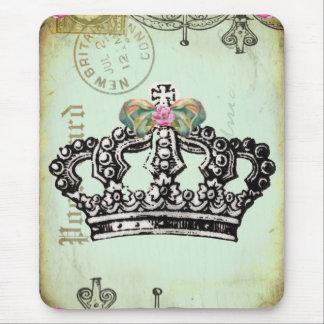 女王のために合う王室のな王冠 マウスパッド
