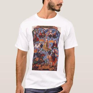 女王のイザベラ系図学 Tシャツ