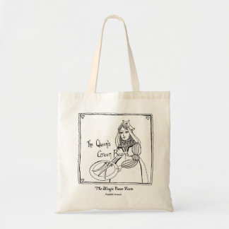 女王のインゲンのキャンバスの戦闘状況表示板 トートバッグ