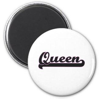 女王のクラシックな仕事デザイン マグネット