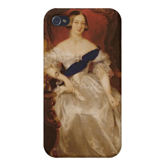 女王のビクトリアポートレート iPhone 4/4Sケース