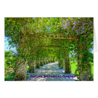 女王のリースのナポリの植物園、フロリダ ノートカード
