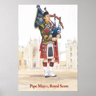 女王の兵士、管専攻学生の王室のなスコット ポスター