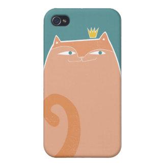 女王の子猫のiphone 4ケース iPhone 4/4Sケース