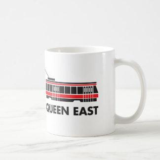 女王の東の(トロント)市街電車のマグ コーヒーマグカップ