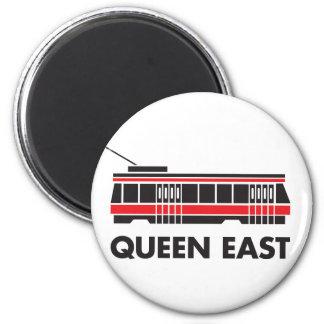 女王の東の(トロント)市街電車の磁石 マグネット