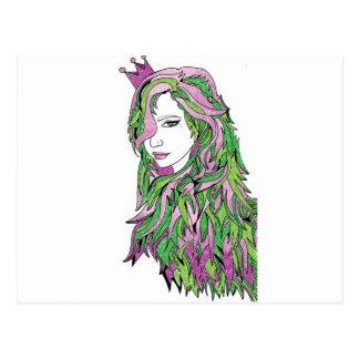 女王の自信 ポストカード