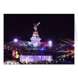女王の記念祭コンサート、ロンドン カード