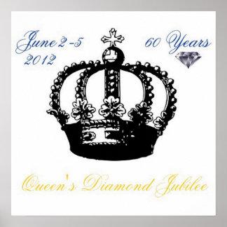 女王の60周年記念2012年のポスター ポスター