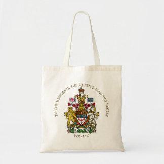 女王の60周年記念-カナダ トートバッグ