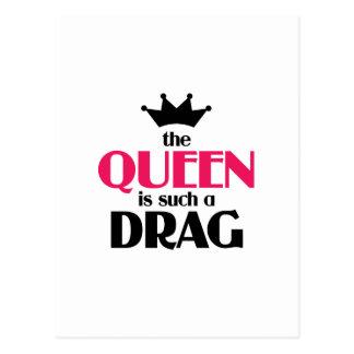 女王はそのようなドラッグです ポストカード