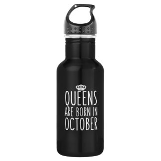 女王は10月に生まれます ウォーターボトル