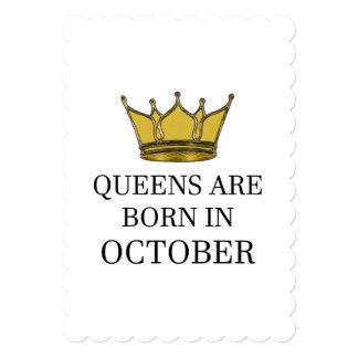 女王は10月に生まれます カード
