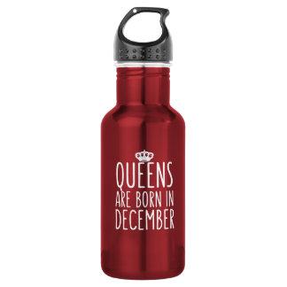 女王は12月に生まれます ウォーターボトル