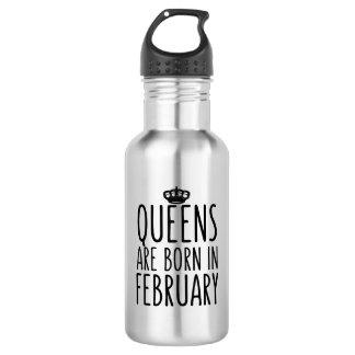女王は2月に生まれます ウォーターボトル
