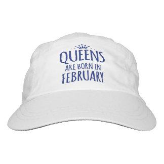 女王は2月の帽子で生まれます ヘッドスウェットハット