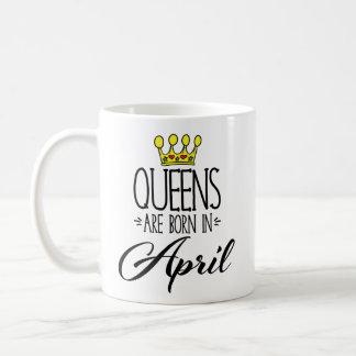 女王は4月のコーヒー・マグで生まれます コーヒーマグカップ