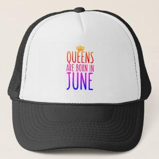 女王は6月の帽子で生まれます キャップ