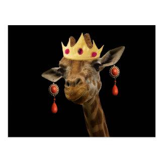 女王を尊重して下さい ポストカード