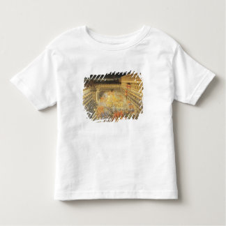 女王を記念するクリスティーナフェスティバル トドラーTシャツ