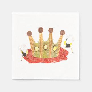 女王バチのナプキン スタンダードカクテルナプキン