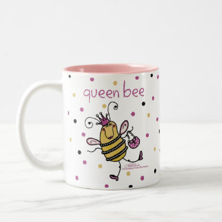 女王バチ ツートーンマグカップ