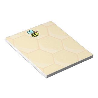 女王バチ ノートパッド