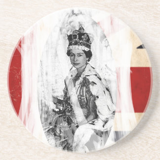 女王陛下万歳のパンクかグランジ コースター