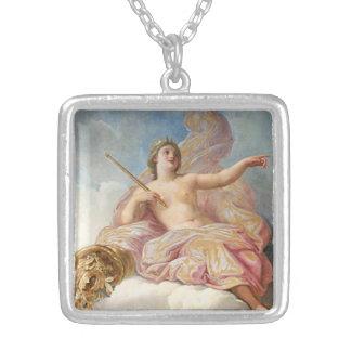 女神のネックレス シルバープレートネックレス