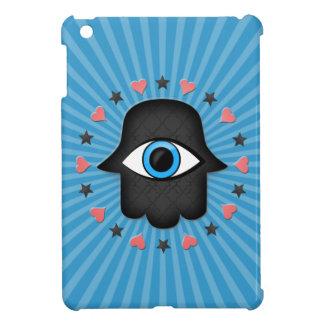 女神の手元のhamsaのkhamsaの目 iPad mini カバー