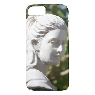 女神の鋳造物の象徴性の彫刻の彫像 iPhone 8/7ケース