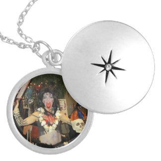 女神のKaliのネックレス シルバープレートネックレス
