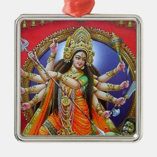 女神Durga メタルオーナメント