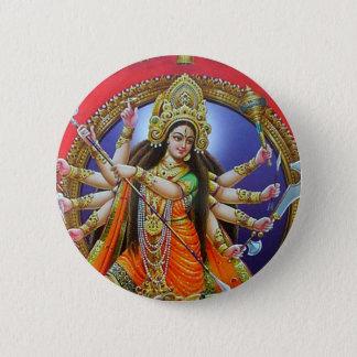 女神Durga 缶バッジ
