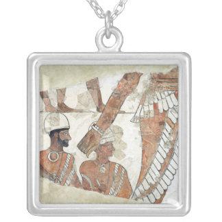 女神Ishtarによる王の叙任 シルバープレートネックレス
