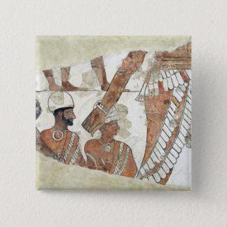 女神Ishtarによる王の叙任 5.1cm 正方形バッジ