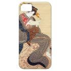 女、国貞の女性、Kunisada、Ukiyo-e iPhone SE/5/5s ケース