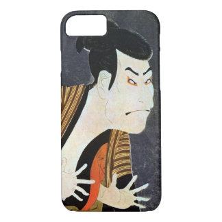 奴江戸兵衛、Sharaku、Ukiyo-e、写楽の江戸Kabuki俳優 iPhone 8/7ケース