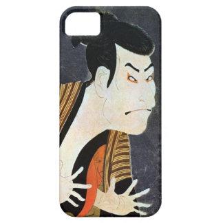 奴江戸兵衛、Sharaku、Ukiyo-e、写楽の江戸Kabuki俳優 iPhone SE/5/5s ケース
