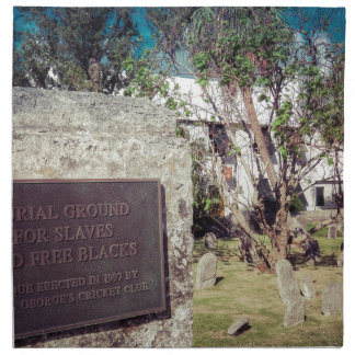 奴隷の埋葬地 ナプキンクロス