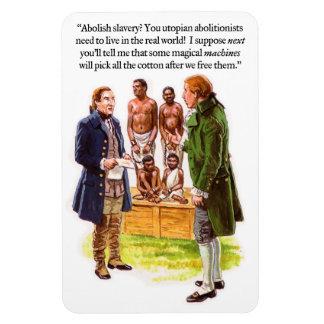 奴隷制度廃止運動の風刺 マグネット