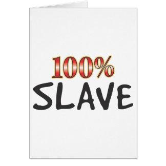奴隷100% カード