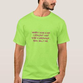 好まない成人のためのTシャツ Tシャツ