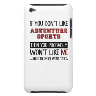 好まなければ冒険のスポーツは冷却します Case-Mate iPod TOUCH ケース