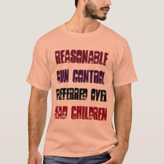 好まれる死んだChildreの適度な銃砲規制 Tシャツ
