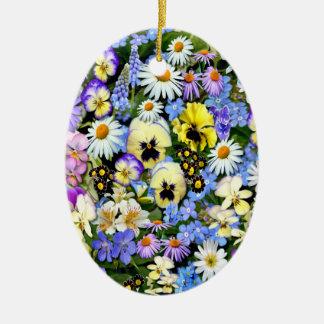 好みの花 セラミックオーナメント