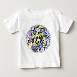 好みの花 ベビーTシャツ